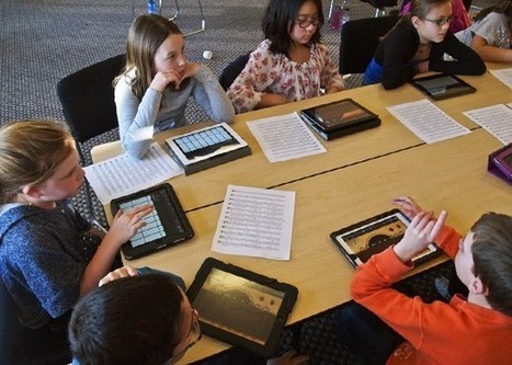 Tablet-Sized Teachers - Slate Magazine | Teach+Learn+Tech | Scoop.it