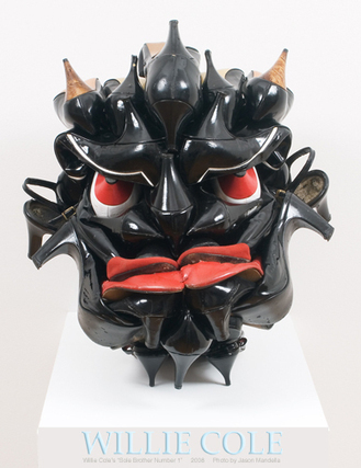 Sole Brother No. 1 | Willie Cole: African-American Contemporary Artist | Scoop.it