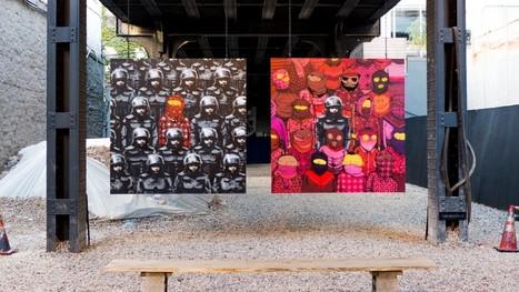 Registrando o encontro entre Banksy e Osgemeos, em Nova York | tecnologia s sustentabilidade | Scoop.it