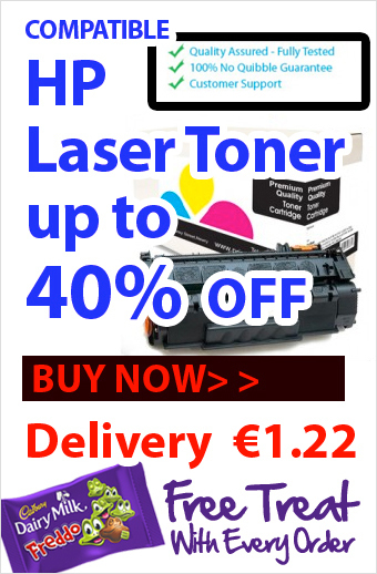Save Upto 40% with Compatible HP Laser Toners and Reduce your Printing Expenses Too!! | Find the Best Value Ink and Toner Cartridges with Multipack Deals in Ireland | Scoop.it