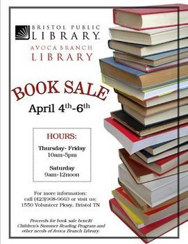 Avoca Branch Library announces April book sale | Tennessee Libraries | Scoop.it