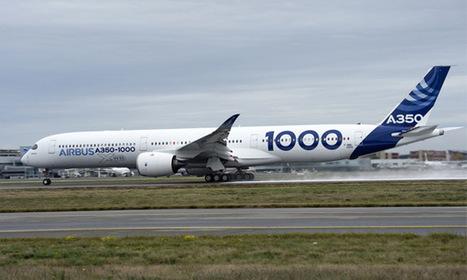 Le 1er vol de l'Airbus A350-1000 prévu pour le 24 novembre à Toulouse | La région Occitanie, terre de succès économiques | Scoop.it