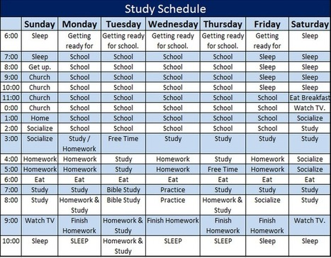 Monthly Study Plan Templates for Kids – School Teacher Template and ...