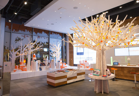AT&T's Interactive Display Lights Up Its Twitter Following | Event Social Media & Technology | Scoop.it