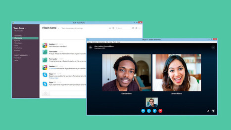 You can now make Skype voice and video calls from Slack | iPhones and iThings | Scoop.it