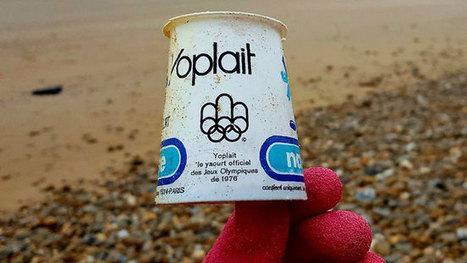 Un pot de yogourt des JO de Montréal retrouvé sur une plage | Revue de presse écologiste | Scoop.it