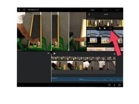 Using the new features of iMovie App in the Primary Curriculum | iPad Teachers Blog | Scoop.it