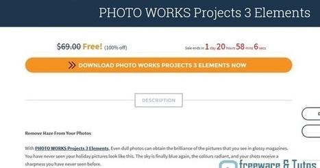 Offre promotionnelle : PHOTO WORKS Projects 3 Elements gratuit à nouveau !   Freewares   Scoop.it