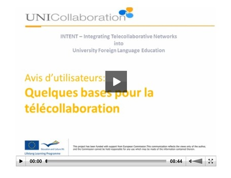 UNI-Collaboration | Online Intercultural Exchange | TELT | Scoop.it