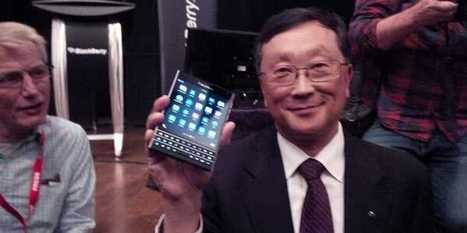 BlackBerry's Strange New Phone Seems Surprisingly Good Based On An Early Review | Marketing Strategy | Scoop.it