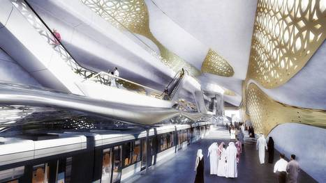 Revealed: Stunning new images show gold-plated, ultra-luxurious Riyadh metro system that Saudi king has ordered to be built | Postcolonial mind | Scoop.it