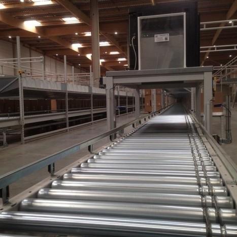 Entrepôt SMCP de Vémars : une logistique bien taillée avec des équipements Transitic   Automatisation industrielle   Scoop.it