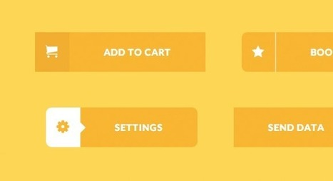 Creative Button Styles | Codrops | Mnemosia: Graphics, Web, Social Media | Scoop.it
