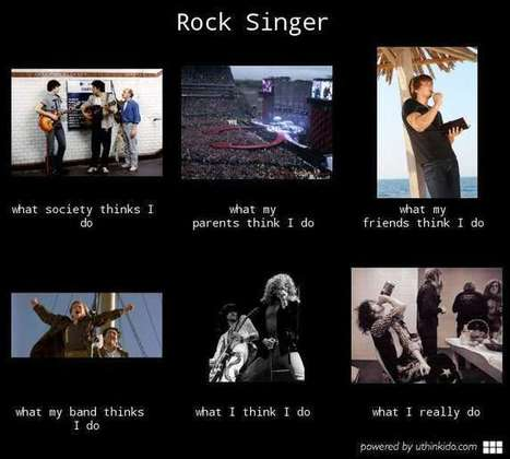 Rock Singer | What I really do | Scoop.it
