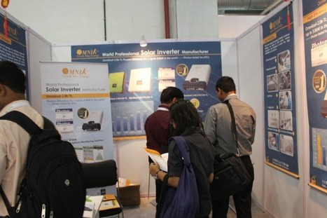 Omnik new energy successfully attend the 6th Renewable Energy India 2012 Expo - Omnik New Energy | 2Q12 Solar Industry Development and Outlook Remains Conservative | Scoop.it