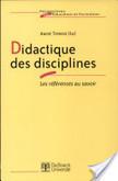 Didactique des disciplines | transposition didactique discipline scolaire | Scoop.it