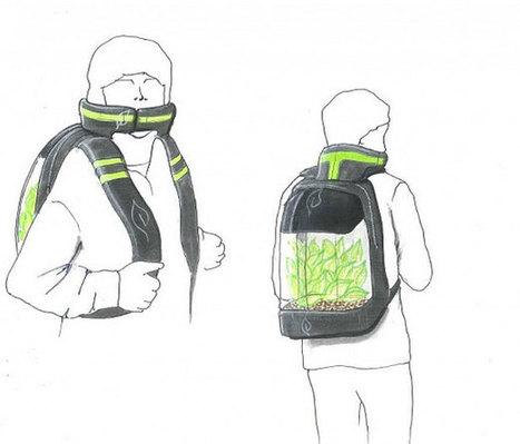 Un sac à plantes pour lutter contre la pollution de l'air | Idées responsables à suivre & tendances de société | Scoop.it