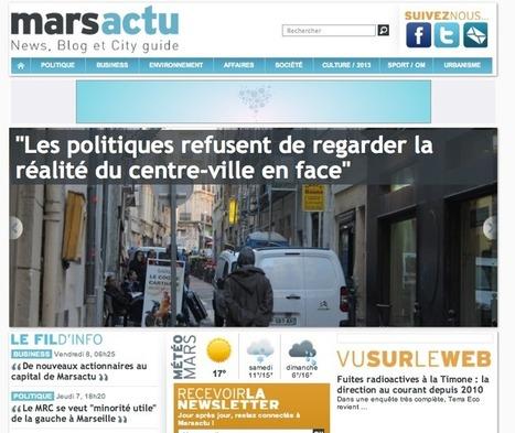 Xavier Niel investit dans le site d'info marseillais Marsactu.fr | Les médias face à leur destin | Scoop.it