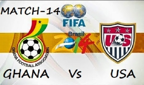 FIFA WORLDCUP 2014 LIVE STREAMING: FIFA 2014 Worldcup - Ghana vs USA match prediction   match preview   live streaming   ipl 7 live score & fifa worldcup update   Scoop.it