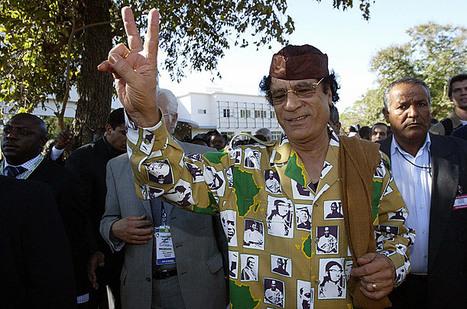 Gaddafi Fashion: The Emperor Had Some Crazy Clothes | Epic pics | Scoop.it