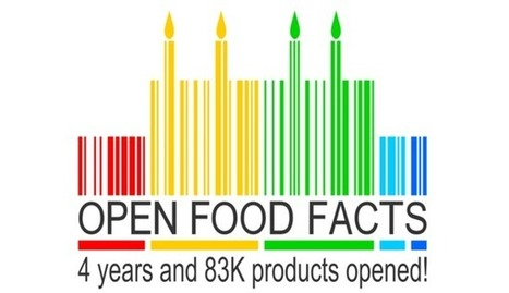 Open Food Facts a 4 ans : 83 000 produits alimentaires en open data ! | Veille Open Data France | Scoop.it