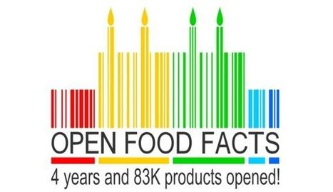 Open Food Facts a 4 ans : 83 000 produits alimentaires en open data ! | Veille Open Data France | Scoop.it