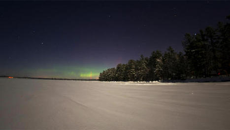 Northern lights make rare appearance over New England | aurora borealis | Scoop.it