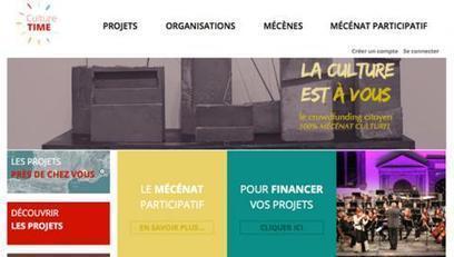 Mécénat culturel en ligne : Culture Time s'ouvre aux TPE - PME | mécénat & levée de fonds | Scoop.it