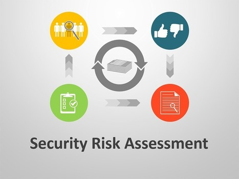 Security Risk Assessment PowerPoint Template | Editable & Ready-to-use PPT slides (information, maps, graphs, data) | Scoop.it