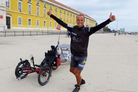 15 000 kilomètres en selle - Il a fait le tour de l'Europe sur un vélo solaire | Bici reclinada - Recumbent bike - Vélo couché | Scoop.it