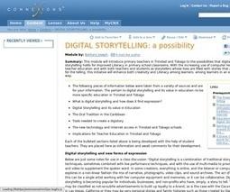Digital Storytelling: a possibility | Educacion, ecologia y TIC | Scoop.it