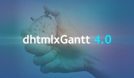 dhtmlxGantt 4.0 is Rolling Out: Meet New Fast Gantt | JavaScript and Web Development | Scoop.it