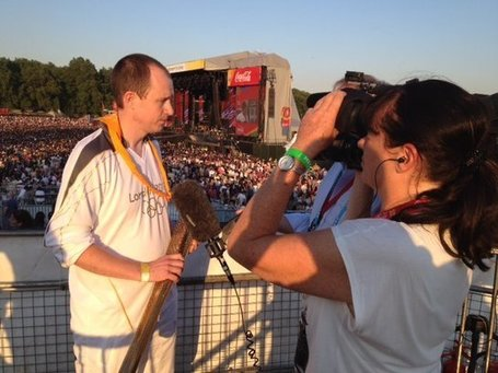 Scout Olympic Torchbearer, Jon Sayer talks to BBC News after representing Scouti... | Scouting | Scoop.it