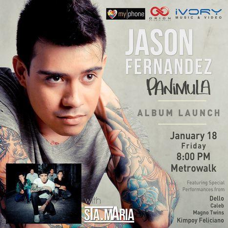 Jason Fernandez 'PANIMULA' Album Launch | MyPhone E-Mag | Scoop.it