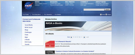 Download Free Ebooks, Legally » 39 Free Ebooks from NASA | DOCUARCH | Scoop.it
