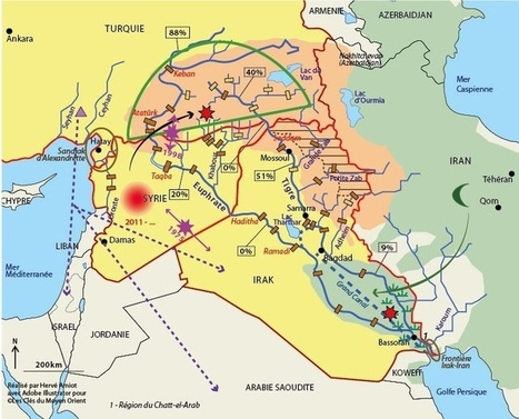 L'eau, cause ou prétexte pour les conflits ? L'exemple du Tigre et de l'Euphrate - Les clés du Moyen-Orient | ECS Géopolitique de l'Afrique et du Moyen-Orient | Scoop.it