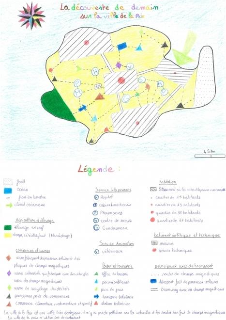Cartographier au collège : les finalistes du Concours de Cartographie Imaginaire | Univers géographique (geographical universe) | Scoop.it