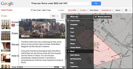 Google updates Hotel Finder with date, neighborhood, brand, and travel time search | Tourisme numérique | Scoop.it