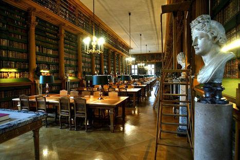 Bibliothèque de l'Institut de France - 23, quai de Conti 75006 PARIS | Bibliothèques prestigieuses | Scoop.it