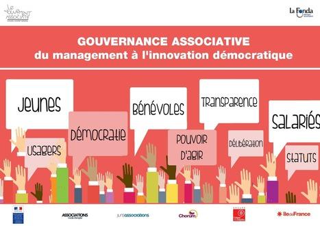 Gouvernance associative : du management à l'innovation démocratique   REZO 1901   Scoop.it