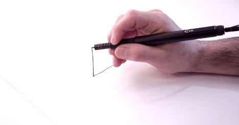 World's Smallest 3D-Printing Pen Is Coming to Kickstarter | Bring back UK Design & Technology | Scoop.it