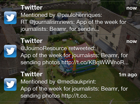 #Tip of the day for journalists: Use the Twitter phone app for alerts | Webortash | Scoop.it