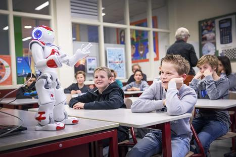 Robots in het onderwijs: moeten leraren zich zorgen maken? | Gadgets en onderwijs | Scoop.it