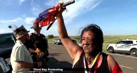Why hundreds of Native Americans have gathered in North Dakota to block an oil pipeline | GarryRogers Biosphere News | Scoop.it