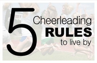 Soffe official fan blog: 5 Cheerleading Rules To Live By | Cheerleading Safety | Scoop.it