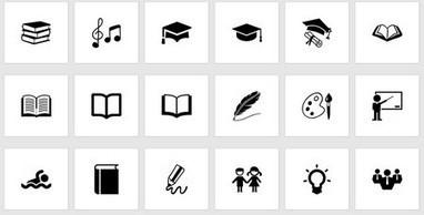 #ClasseTICE - 1543 Icônes éducation gratuites pour un usage personnel et commercial | Causmicbeast | Scoop.it