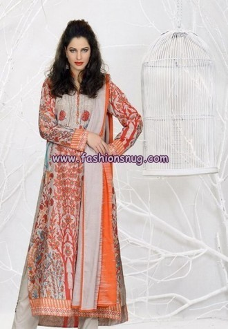Khaadi Summer Lawn Range For March 2013 | The Latest Fashion | Scoop.it