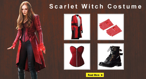 Complete Scarlet Witch Costume Guide | celebrities Leather Jackets | Scoop.it