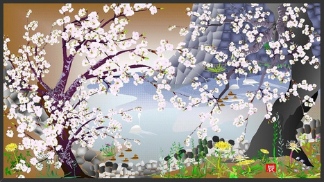 Old Japanese Man Creates Amazing Art Using Excel (Wait, Excel?) | the different types of Art | Scoop.it
