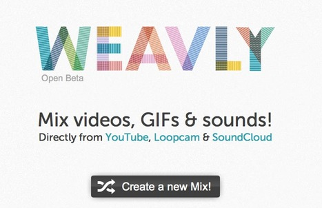 Weavly | Mix videos, GIFs & sounds! | TeachingSkills | Scoop.it